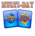2+ Days Universal Orlando Discount Tickets